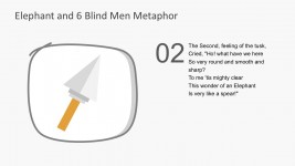 Creative Spear PowerPoint Vectors