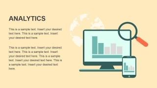 Analytics Metaphor PowerPoint Icons Flat Design