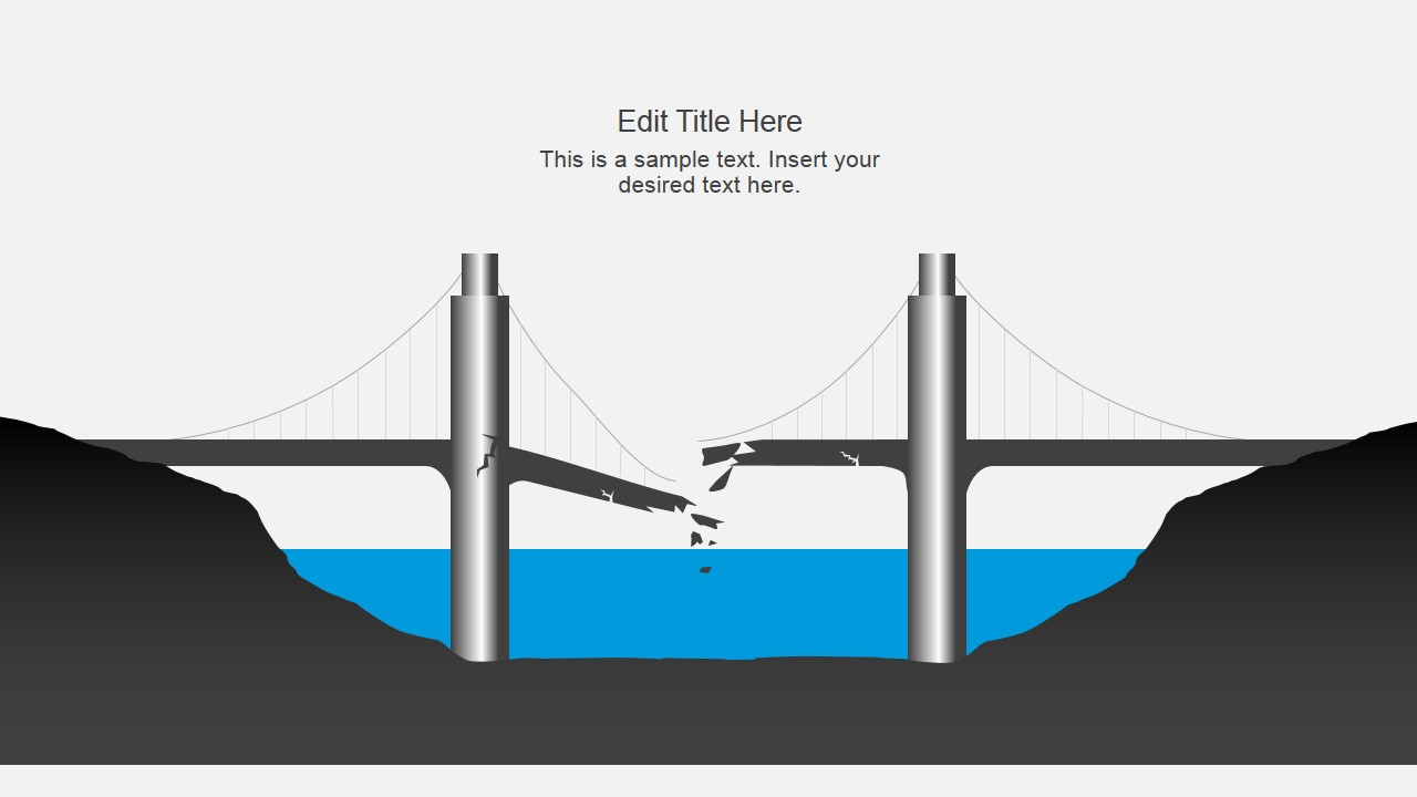 Bridge Diagrams Powerpoint Template