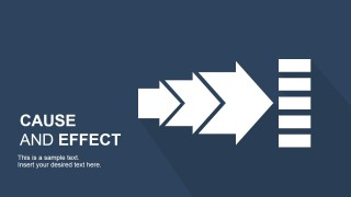 Cause effect powerpoint template slidemodel cause effect powerpoint template is a presentation design template that you can use to support your cause effect analysis slides during a microsoft toneelgroepblik Image collections