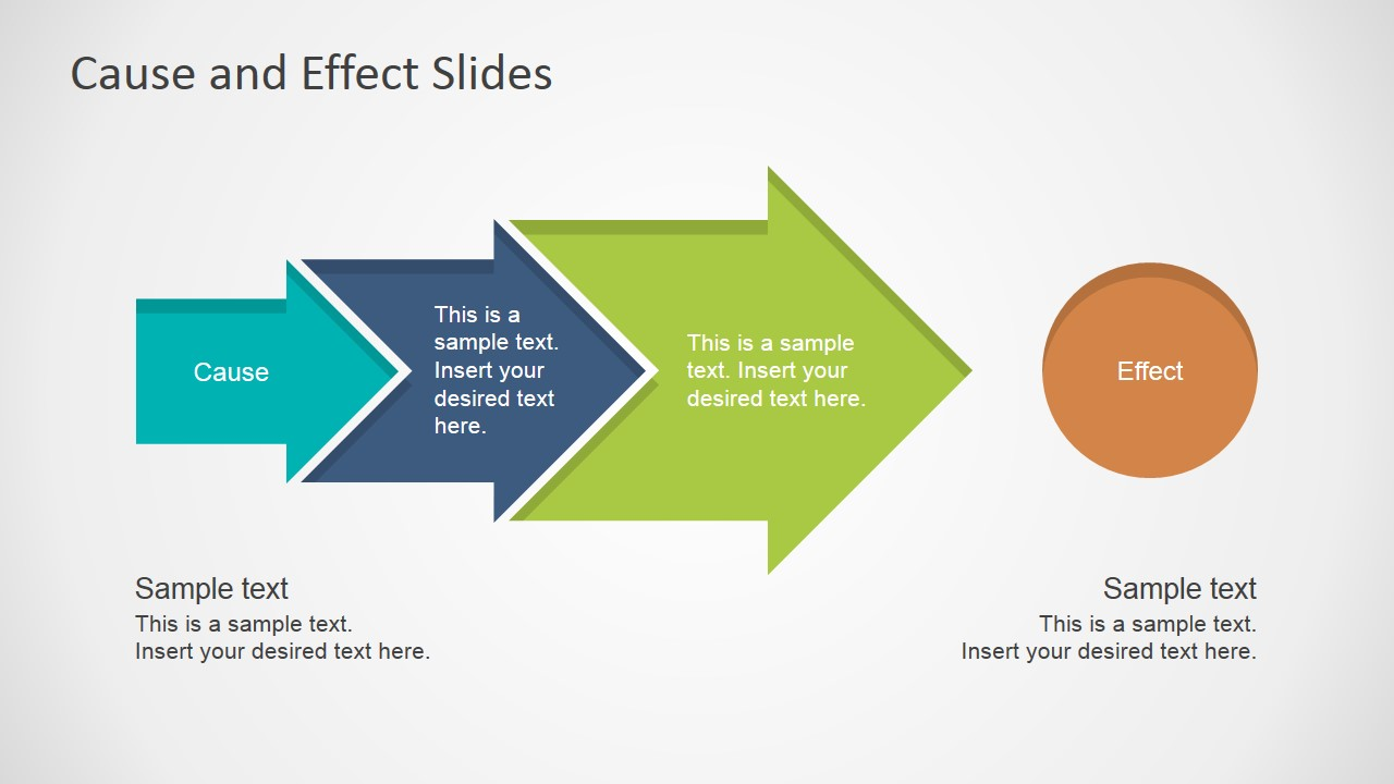 cause effect powerpoint template slidemodel