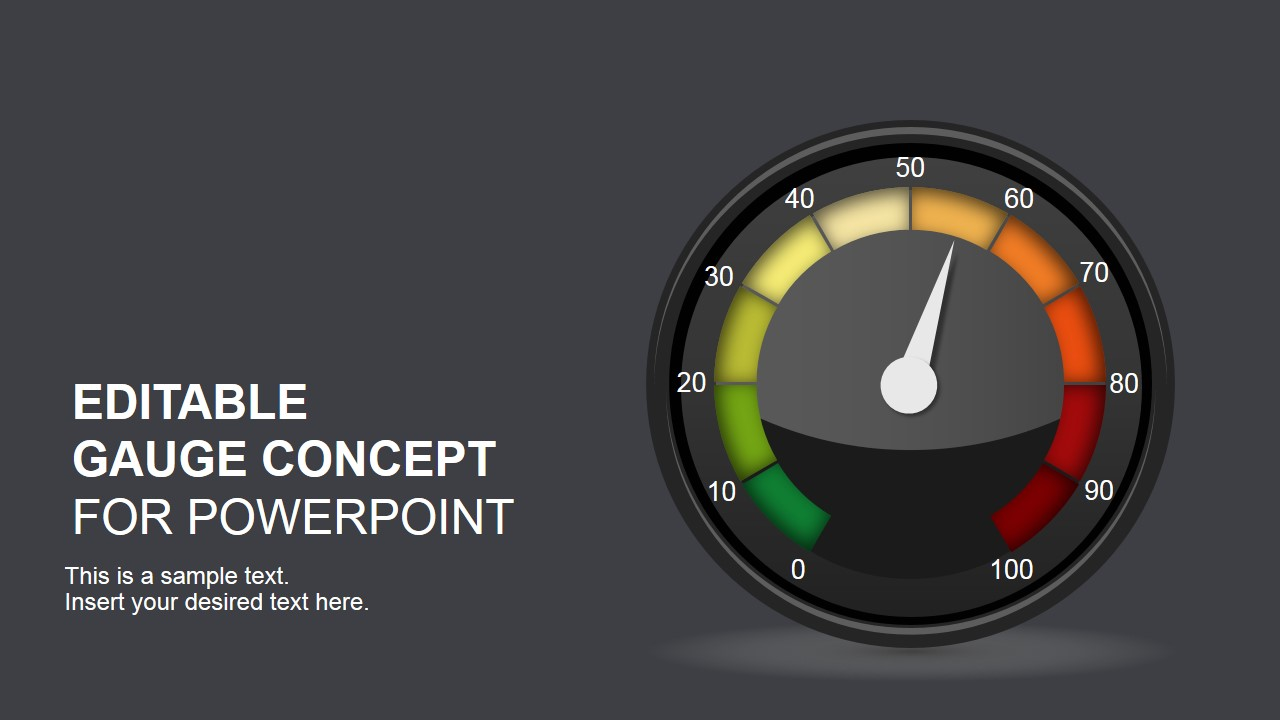 gauges for powerpoint, Powerpoint templates