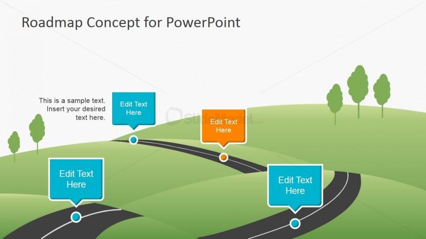 6956 01 roadmap concept for powerpoint 2 slidemodel
