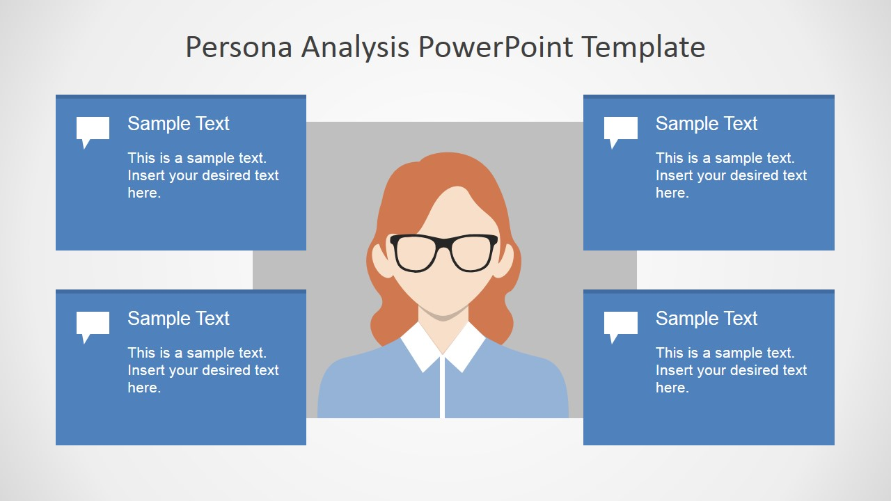 Persona Analysis PowerPoint Template