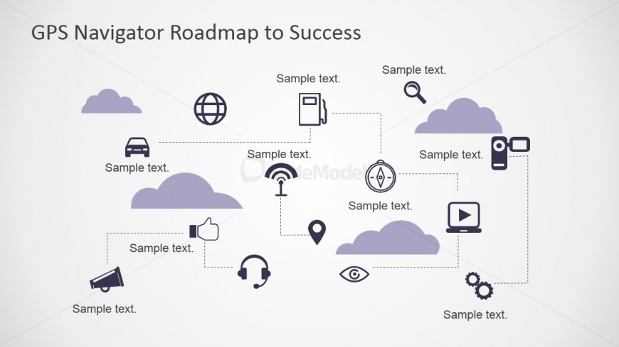 PowerPoint Icons for Roadmap Presentations