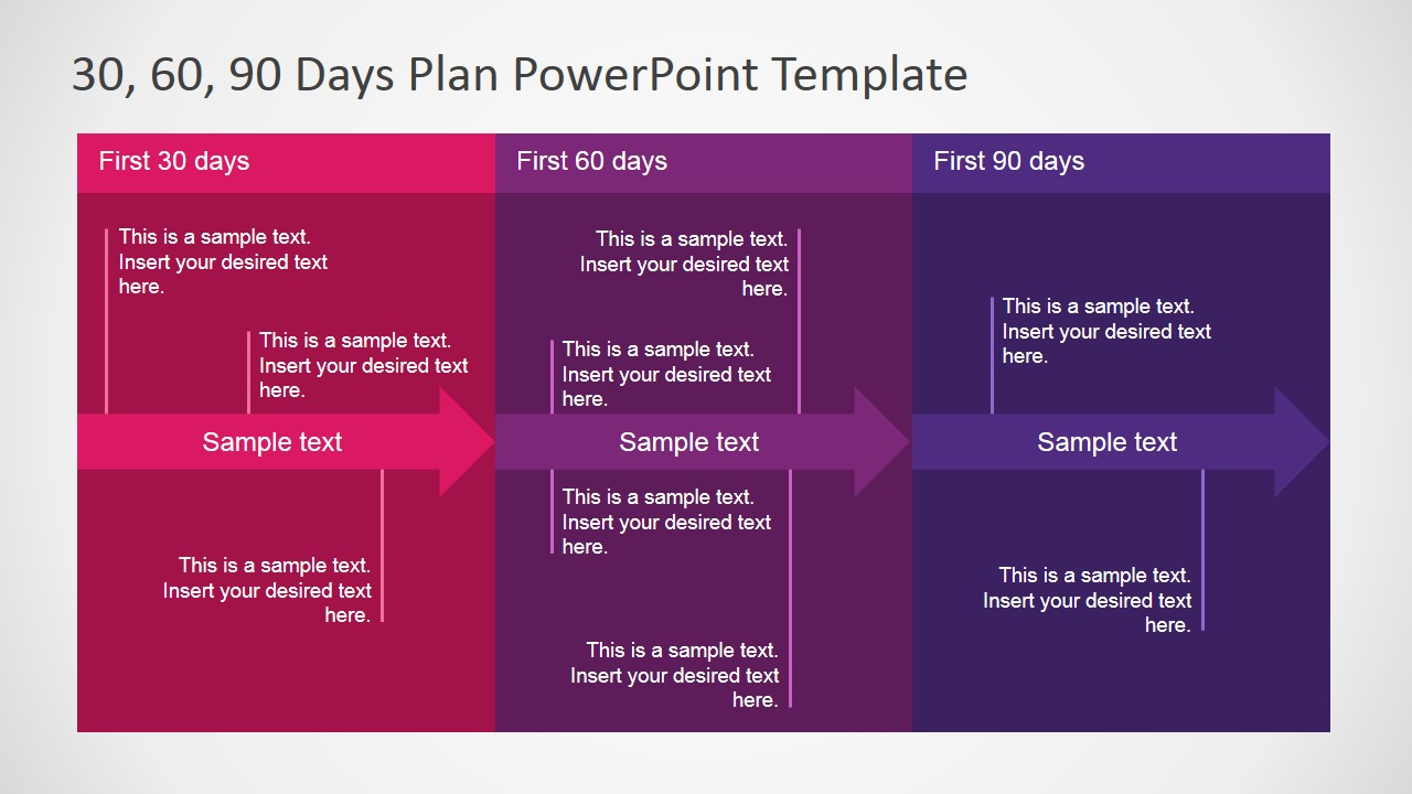 30 60 90 Days Plan PowerPoint Template SlideModel – 30 60 90 Day Action Plan Template