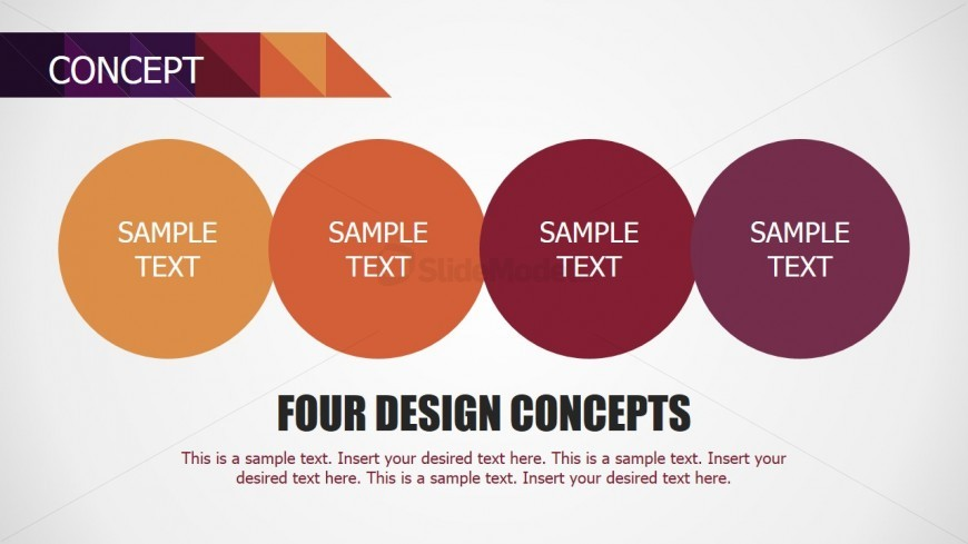 PowerPoint Design for Concept Slide