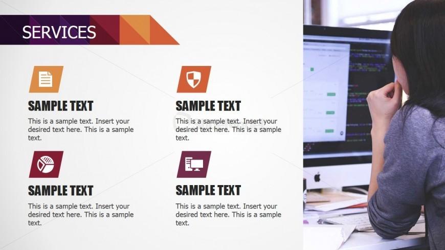 PowerPoint Matrix for Small Business Service Description