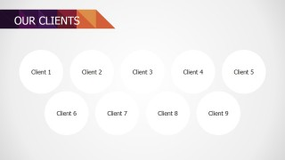 PowerPoint Design for Our Clients Section Small Business Deck