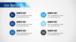 PPT Template List Services