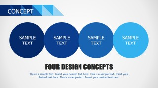 PPT Four Circles Concept Model