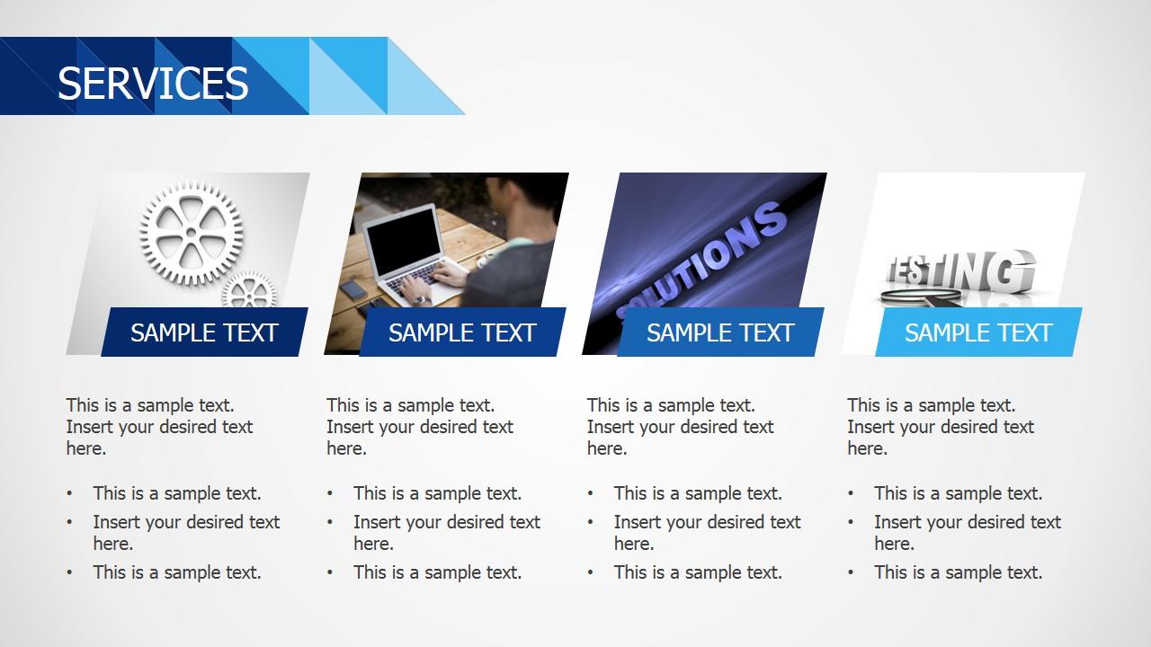 PowerPoint Templates Services Description