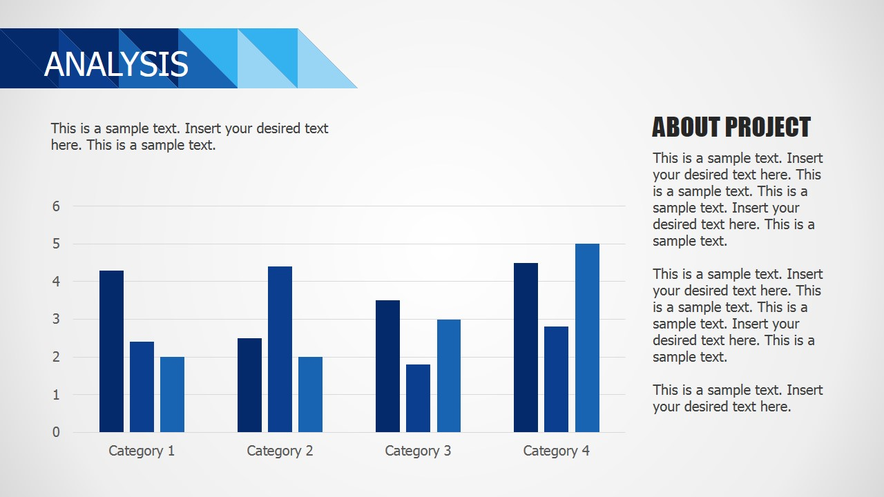 PPT Bar Charts Business Template