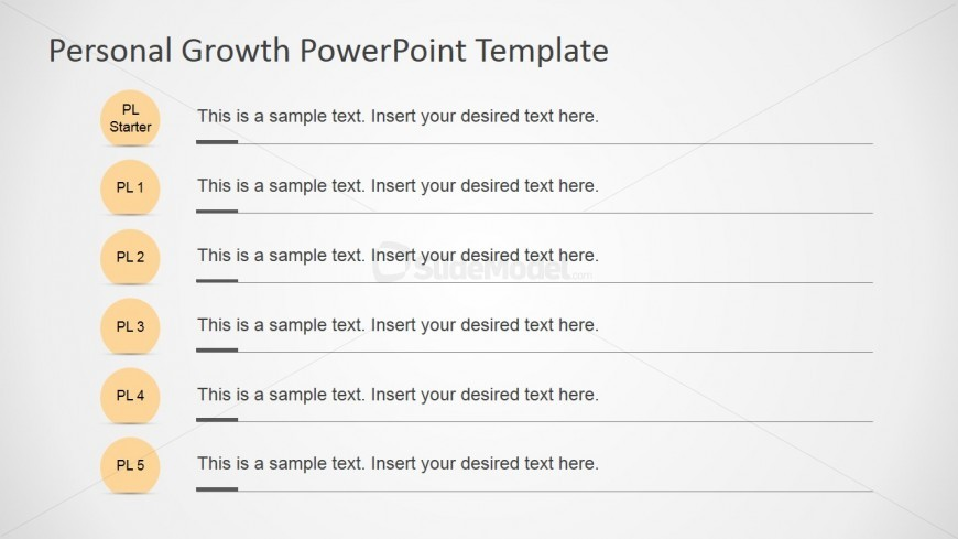 Personal Growth Plan Milestones For Powerpoint - Slidemodel