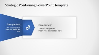 Professional PowerPoint Template Strategy Quadrant