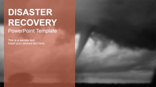 PowerPoint Slide Theme Disaster Recovery