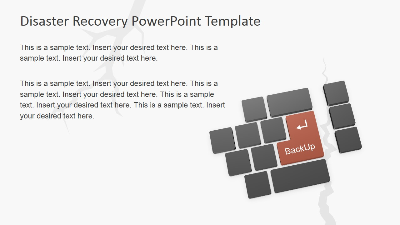 PowerPoint Keyboard with Backup Enter Key