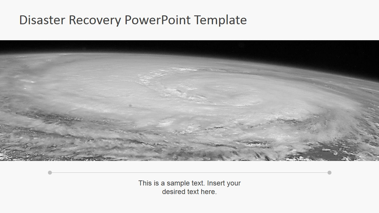 Disaster recovery powerpoint template slidemodel earthquake disaster powerpoint background photo of hurricane from space toneelgroepblik Images