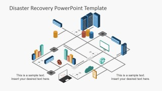 PowerPoint Diagram of Disaster Recovery Process