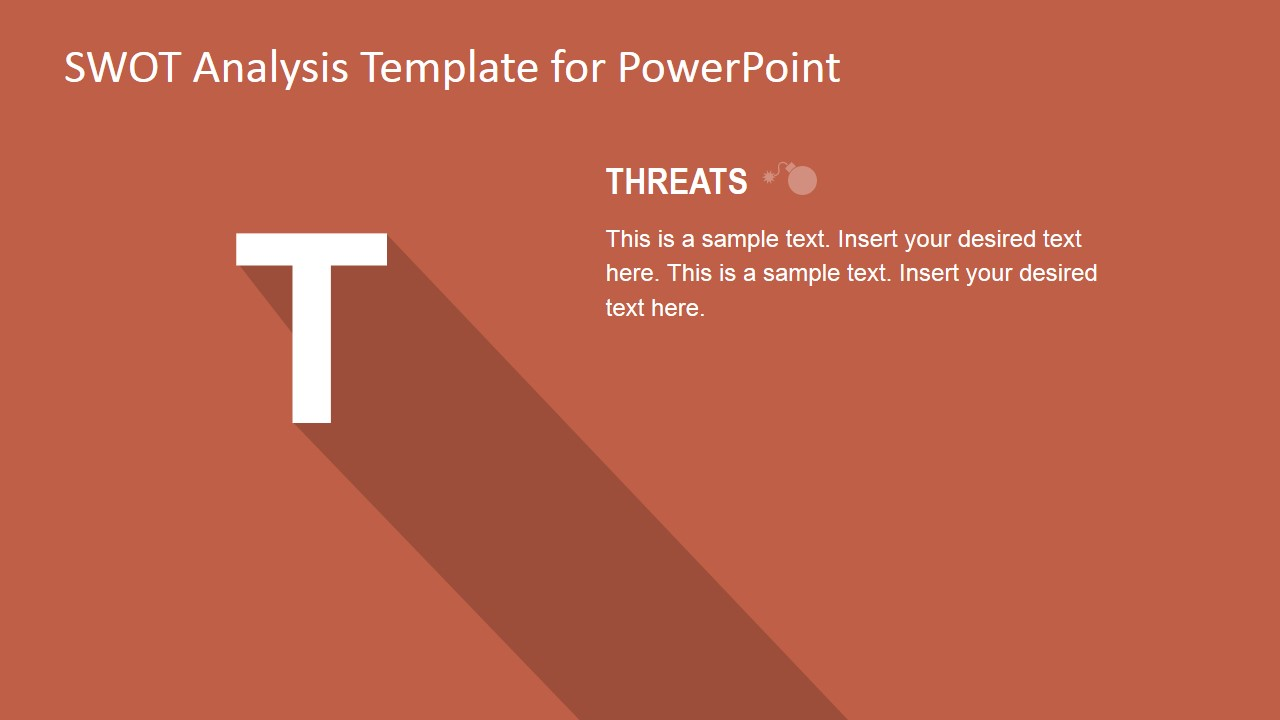 PowerPoint SWOT Analysis PPT Template