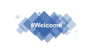 Welcome Cover Slide Template