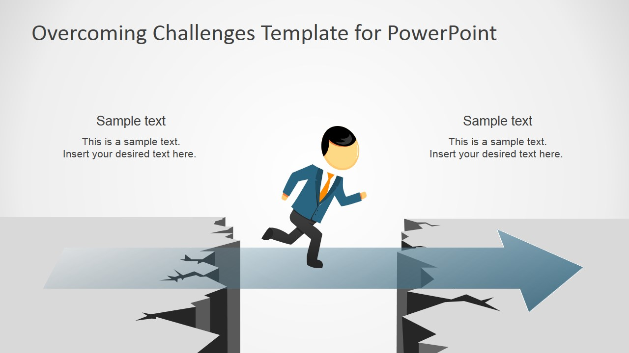 Overcoming Challenges Powerpoint Template Slidemodel