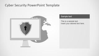 PowerPoint Slide Design Featuring Backdoor Vulnerability
