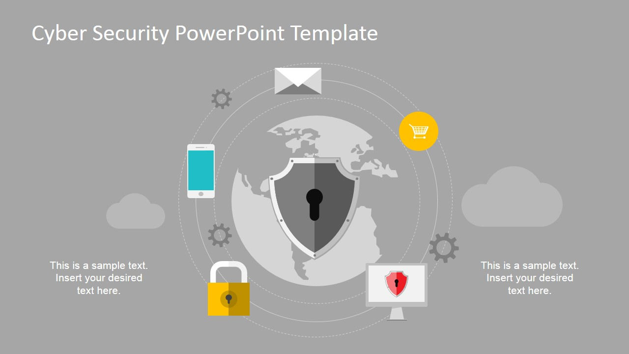 Cyber security powerpoint template slidemodel computer networks powerpoint slide design featuring backdoor vulnerability digital systems powerpoint icons toneelgroepblik Gallery