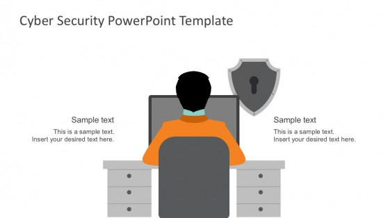 Cyber Security Solution Template For PowerPoint