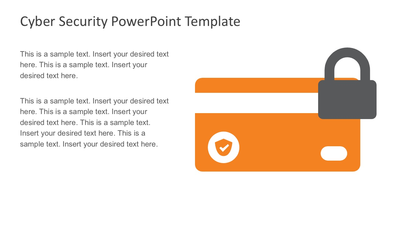 Business Bank Details Secuity PowerPoint Slides