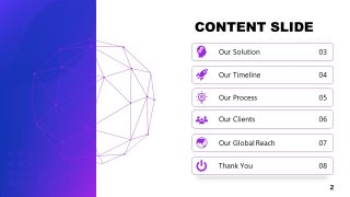 PowerPoint Theme of Artificial Intelligence