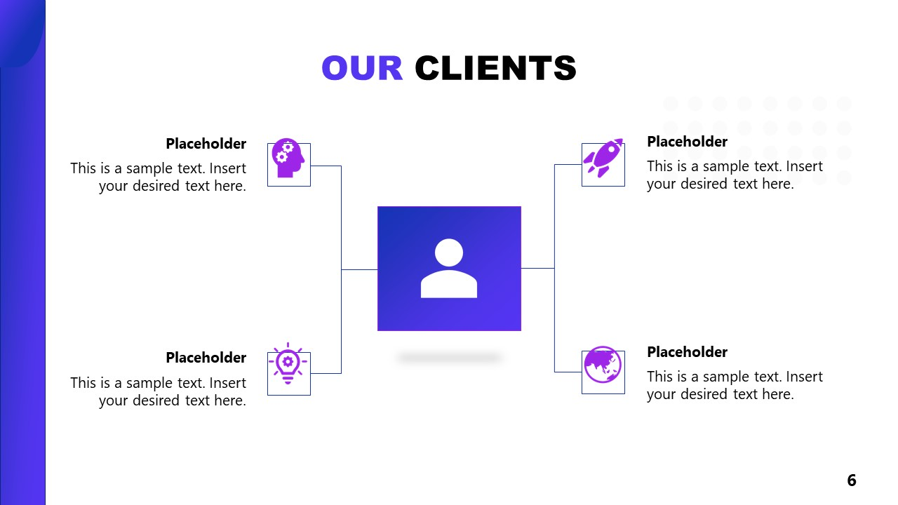 Business Clients of Artificial Intelligence PowerPoint