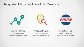 PowerPoint Shapes Referencing Affiliate Marketing, Local Optimization and Favorites