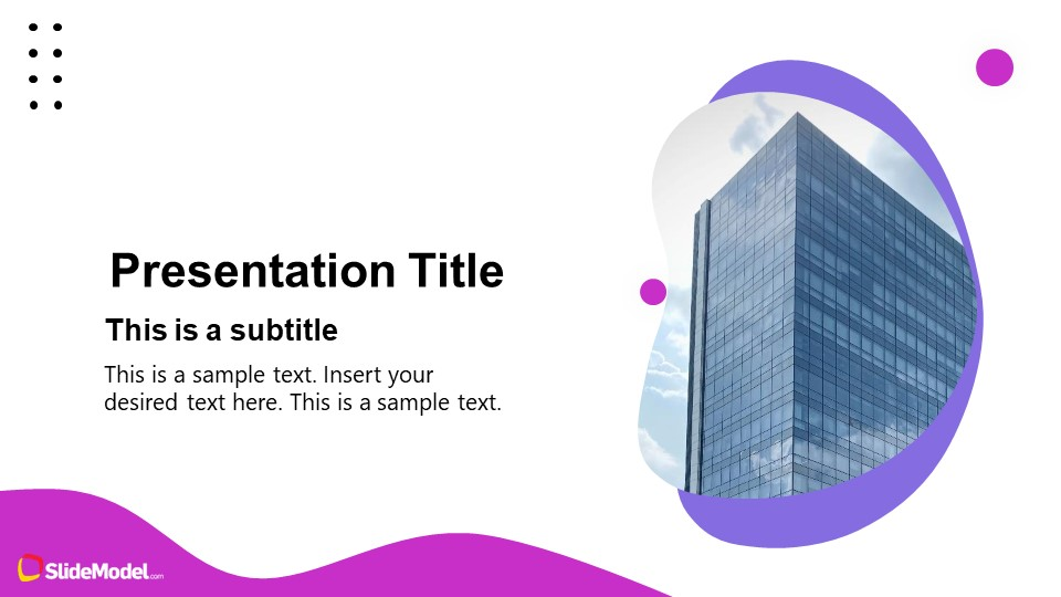 PowerPoint Template for Business Pitch Deck