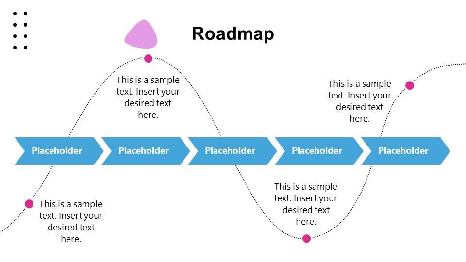 PowerPoint Presentation Success Roadmap Template