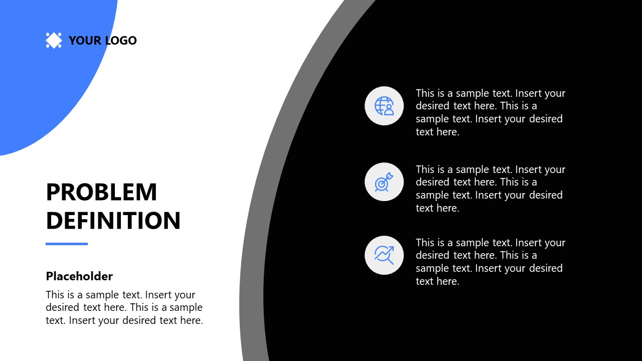 PowerPoint Template for Startup Problem Definition