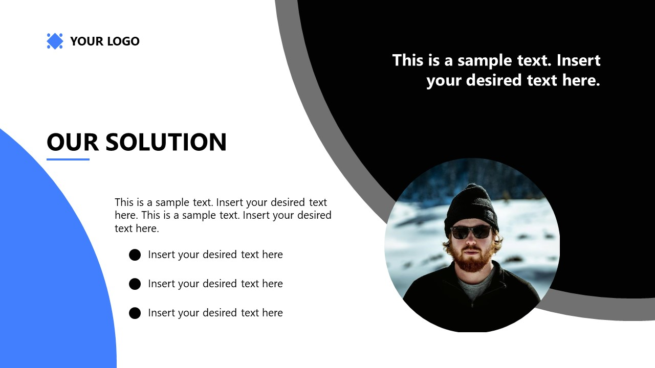 PowerPoint Template for Startup Solution