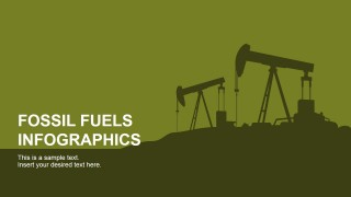 PowerPoint Slide Featuring Oil Pumps