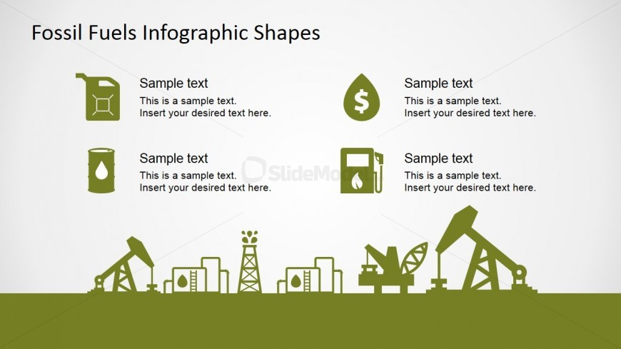 PowerPoint Clipart Featuring Oil and Gas