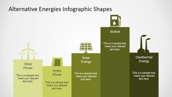 Alternative Energies Infographics for PowerPoint
