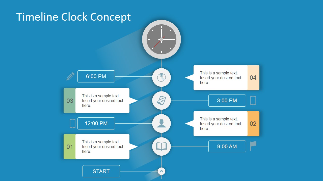 Planning PowerPoint Design of Milestones