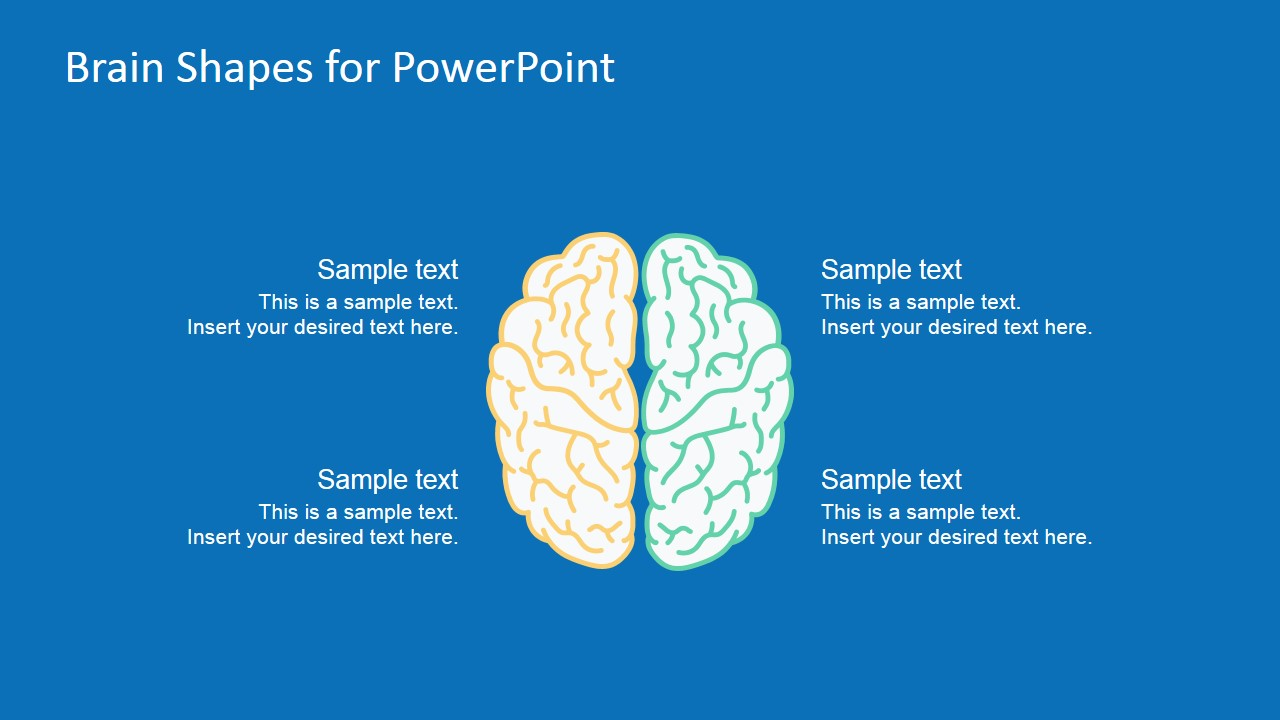 how to draw a brain in powerpoint