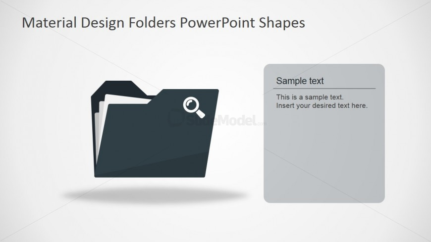 PPT Template Document Folder