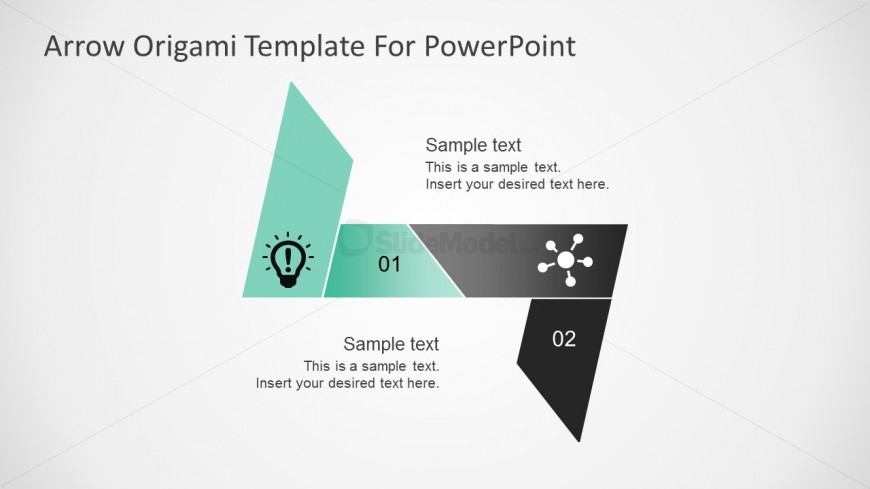 Arrow Illustrated Free PowerPoint Template