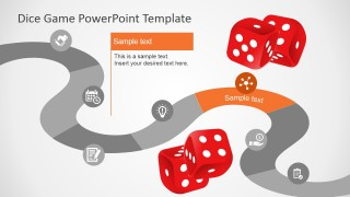 PowerPoint Game Board Design with Icons