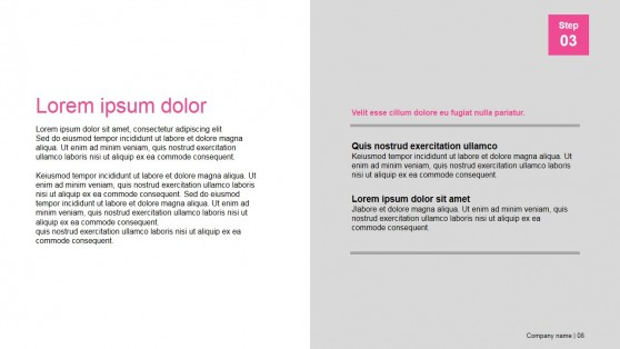 PowerPoint Presentation Template for Slideshare Decks