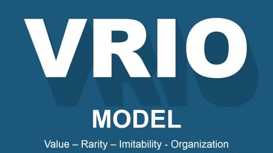 VRIO Capital Letters Banner Slide