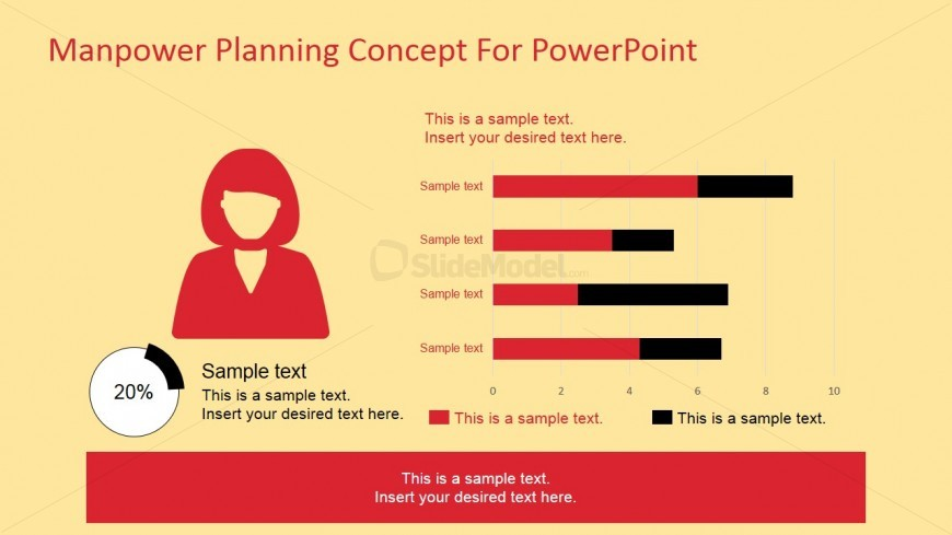 7082 01 manpower planning concept for powerpoint 4 for Manpower forecasting template