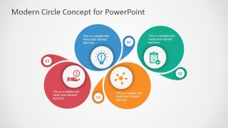 Modern Circle Concept Design for PowerPoint