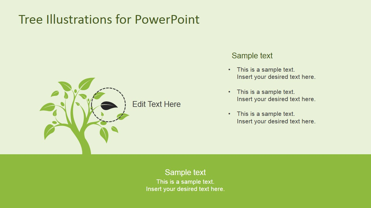 PowerPoint Tree Diagram Clipart